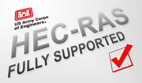 Read and write standard US Army Corps HEC‑RAS data files, ready for regulatory agency submittal.